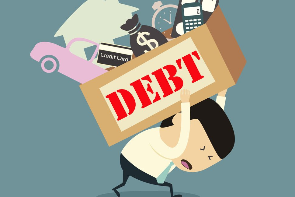 Take a loan to clear your debts